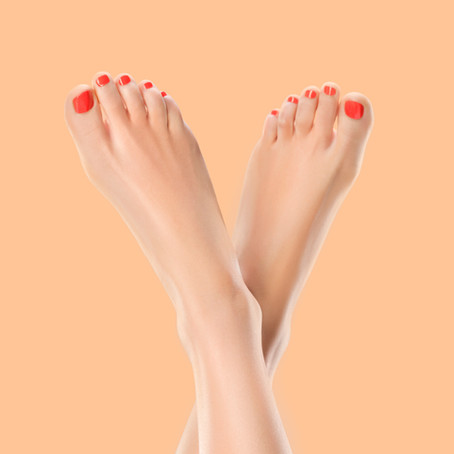 Treat your feet to our Indulgent Luxury Medical Pedicure