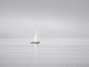 Voile sur la côte ouest, Loch Leven Argyll