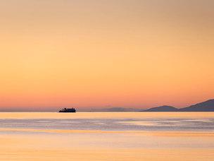 À destination des Orcades, Pentland Firth