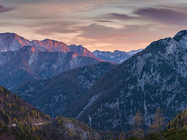 Vrsic Pass, Julian Alps - Slovenia