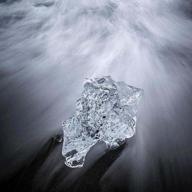 Dynamic Ice - South Iceland