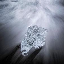 Glace dynamique - Sud de l'Islande