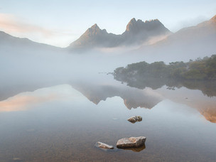 Morning mist, Cradle Mountain - Tasmania