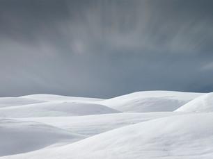 Snow Dunes  - Iceland