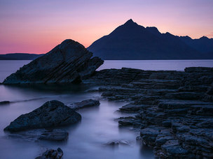 The Black Cuillin, Elgol Rocks - Skye