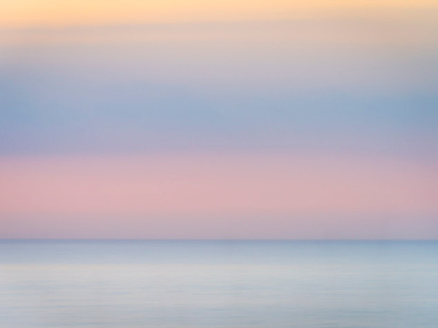 Pink Dawn, Firth of Clyde - from Arran