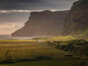 Lumière d'été sur Talisker Bay - Skye