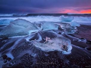 Jökulsárlón Beach - Iceland