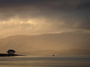 Ciel d'hiver, Kentallen par Loch Linnhe
