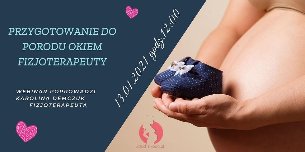 Przygotowanie do porodu okiem fizjoterapeuty- darmowy webinar!