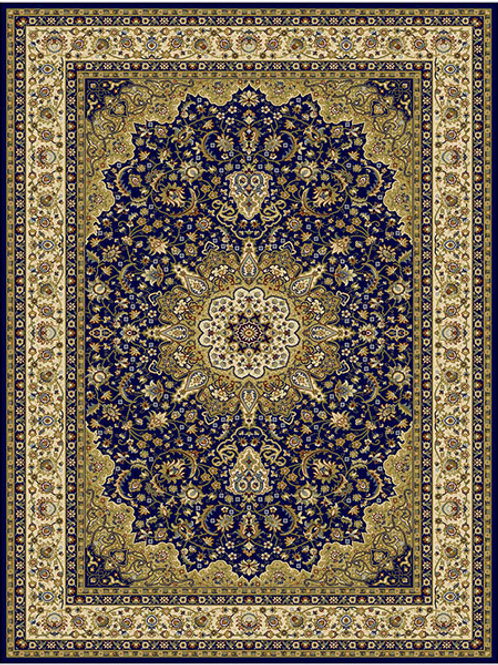 Classico Traditional Navy Rug