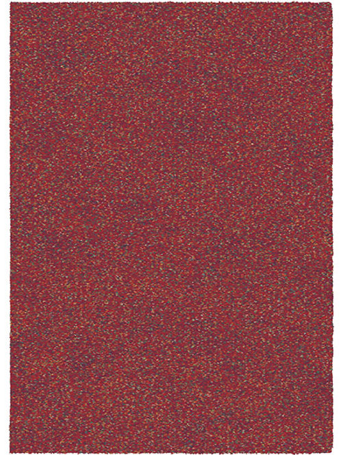 Eden Cosy Plain Red Rug