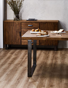 Novocore Premium Hybrid Flooring - Spring Walnut