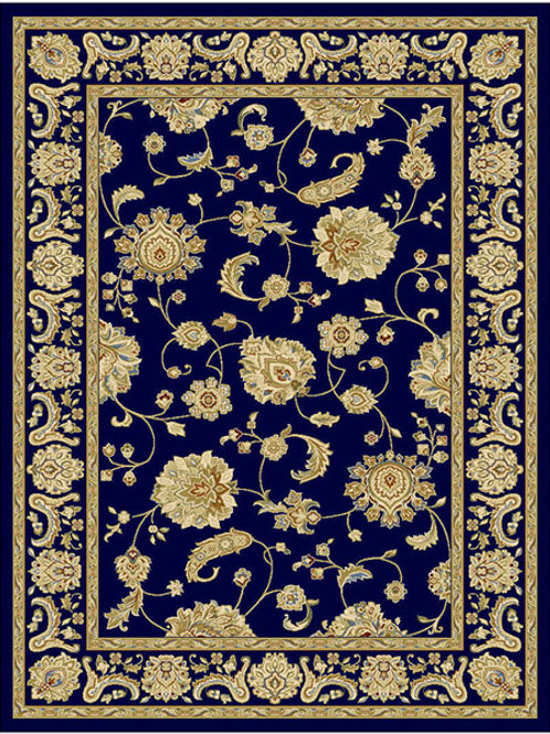 Classico Floral Navy Rug