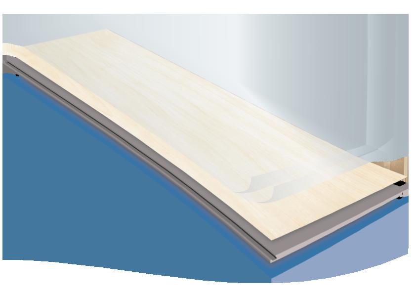 Construction boards of the Neptune Hybrid Flooring