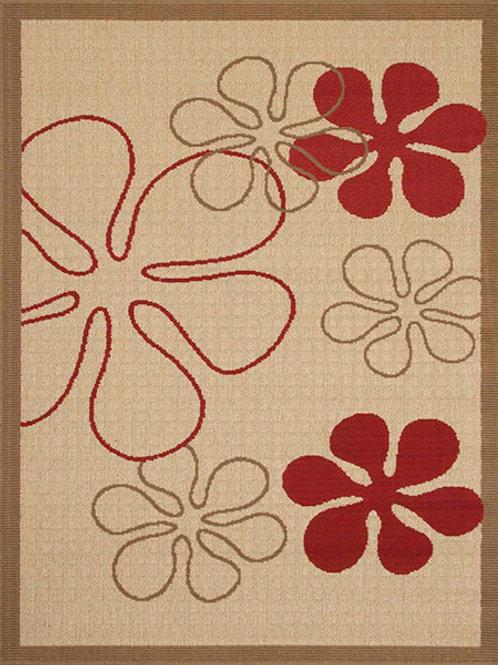 Gardenia Floral Beige Rug