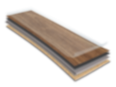 Construction Boards of the Novocore Premium Hybrid Flooring