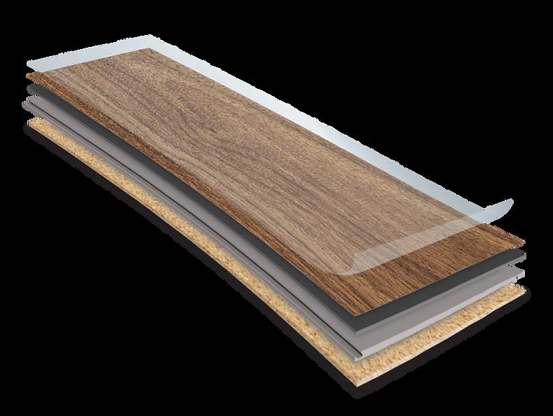Construction Boards of the Novocore Premium Hybrid Flooring