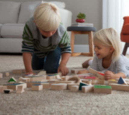 SmartStrand Silk Forever Clean is a kids friendly carpet.