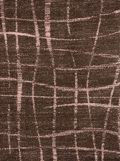Nature Lines Chocolate Pink Rug