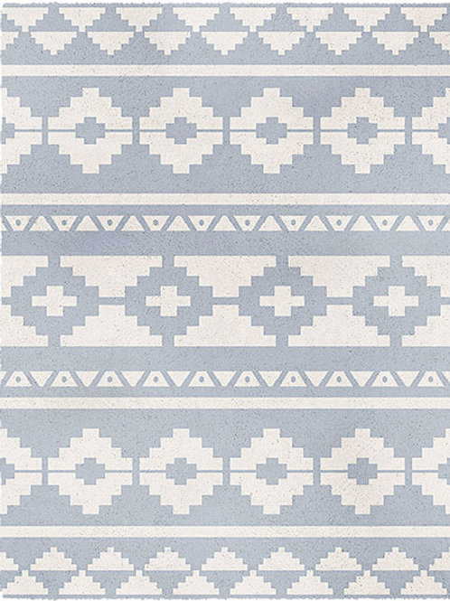 Alaska Scandi Light Blue Rug