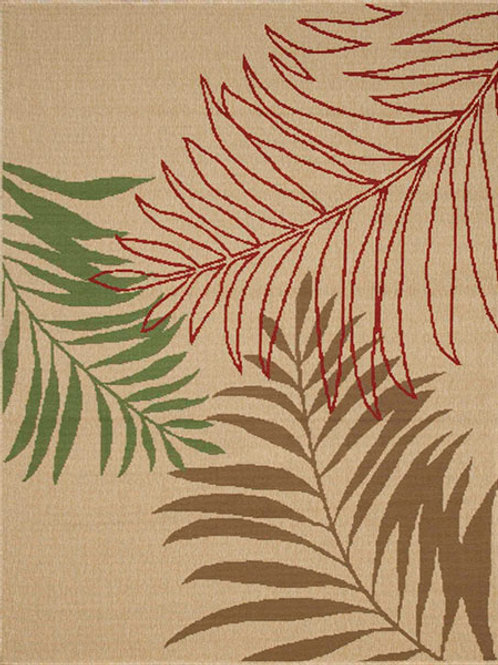 Gardenia Palm Beige Rug
