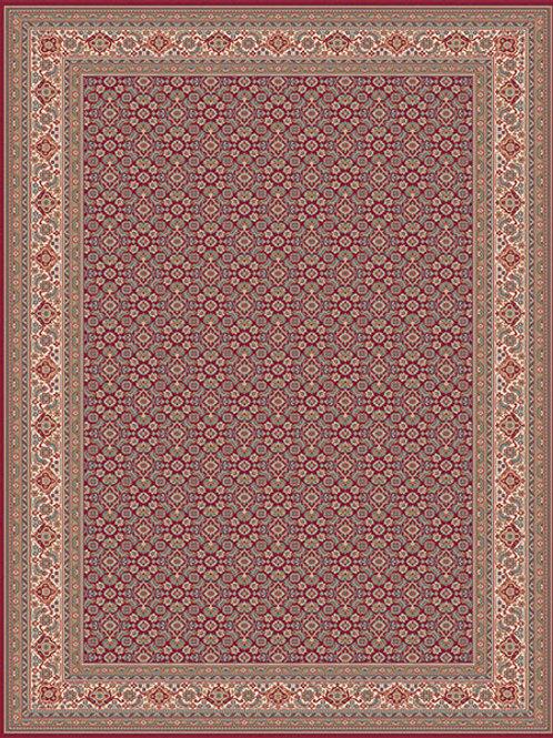 Grandeur Traditional Red Rug