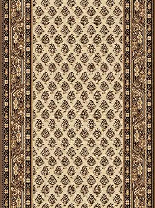 Kashbah Traditional Ivory Runner Rug