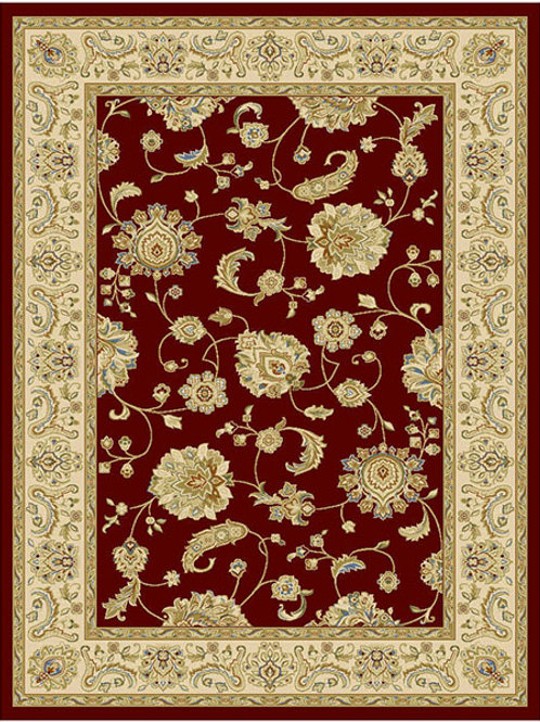 Classico Floral Red Rug