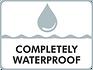 completely waterproof