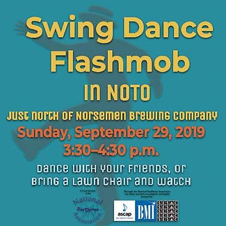 Swing Flashmob in NOTO (free public event)