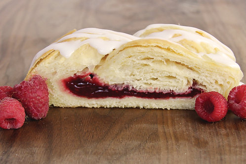 Rasperry Butter Braid Pastry