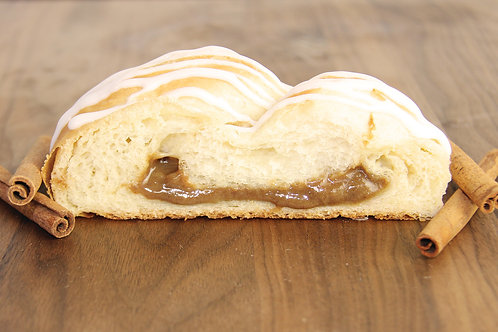 Cinnamon Butter Braid Pastry