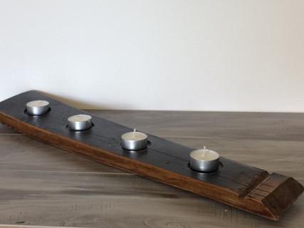 Wine Barrel Tealight Tray.