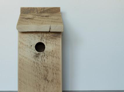 Barn Board Swallow Box