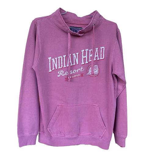 Indian Head Cadet Collar Sweatshirt