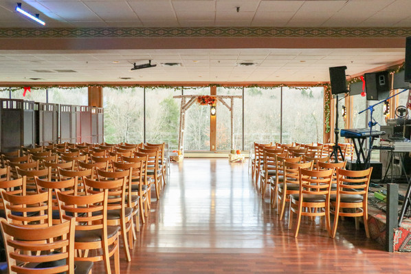 Thunderbird Lounge Indoor Ceremony Setup