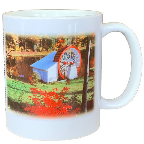 Waterwheel and Profile Mug