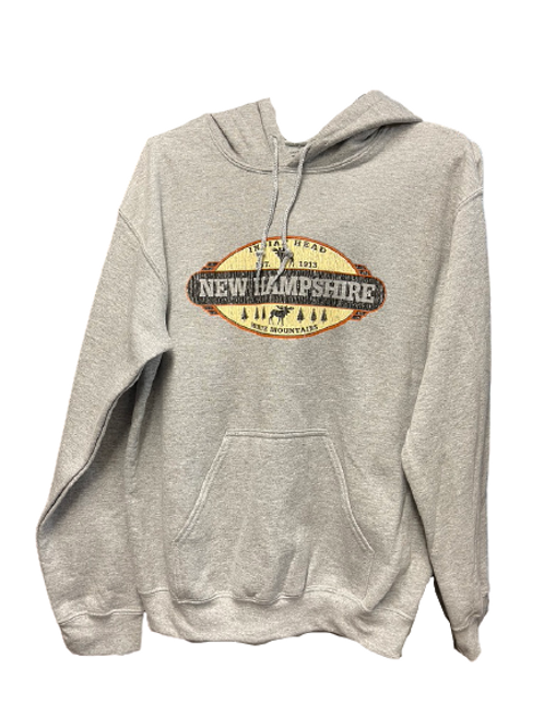 Retro Oval Hooded Sweatshirt