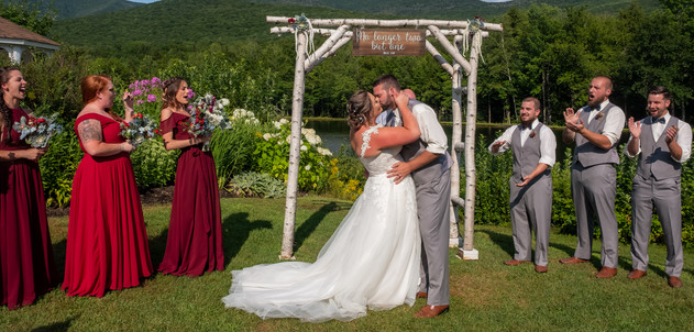 Indian Head Resort Summer Wedding