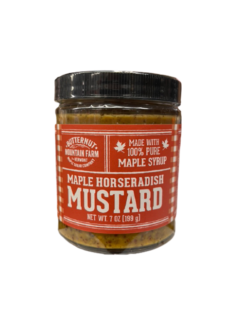 Maple Horseradish Mustard