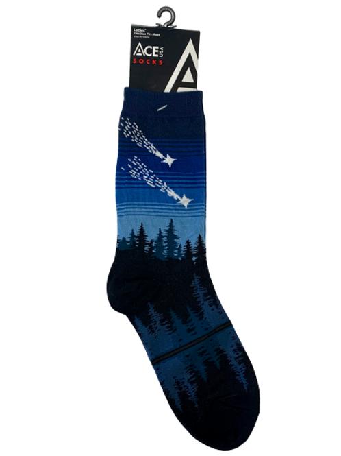 Shooting Star Socks