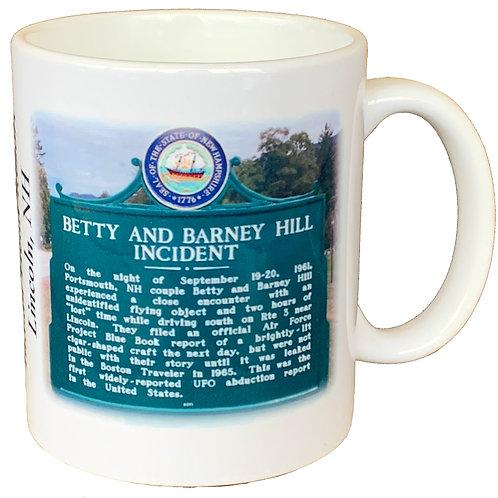 Betty & Barney Hill and Profile Mug