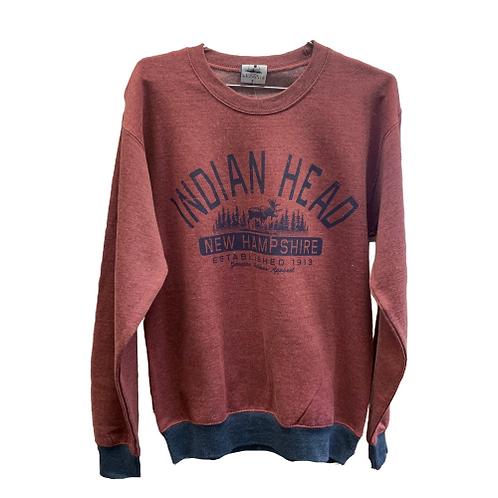 Indian Head NH Crewneck