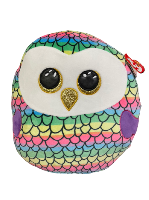 Owen the Owl - Ty Squish-A-Boos