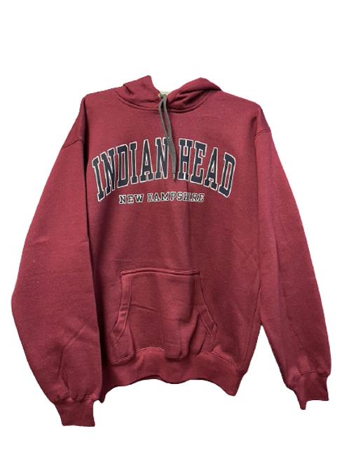 Indian Head New Hampshire Hooded Sweatshirt