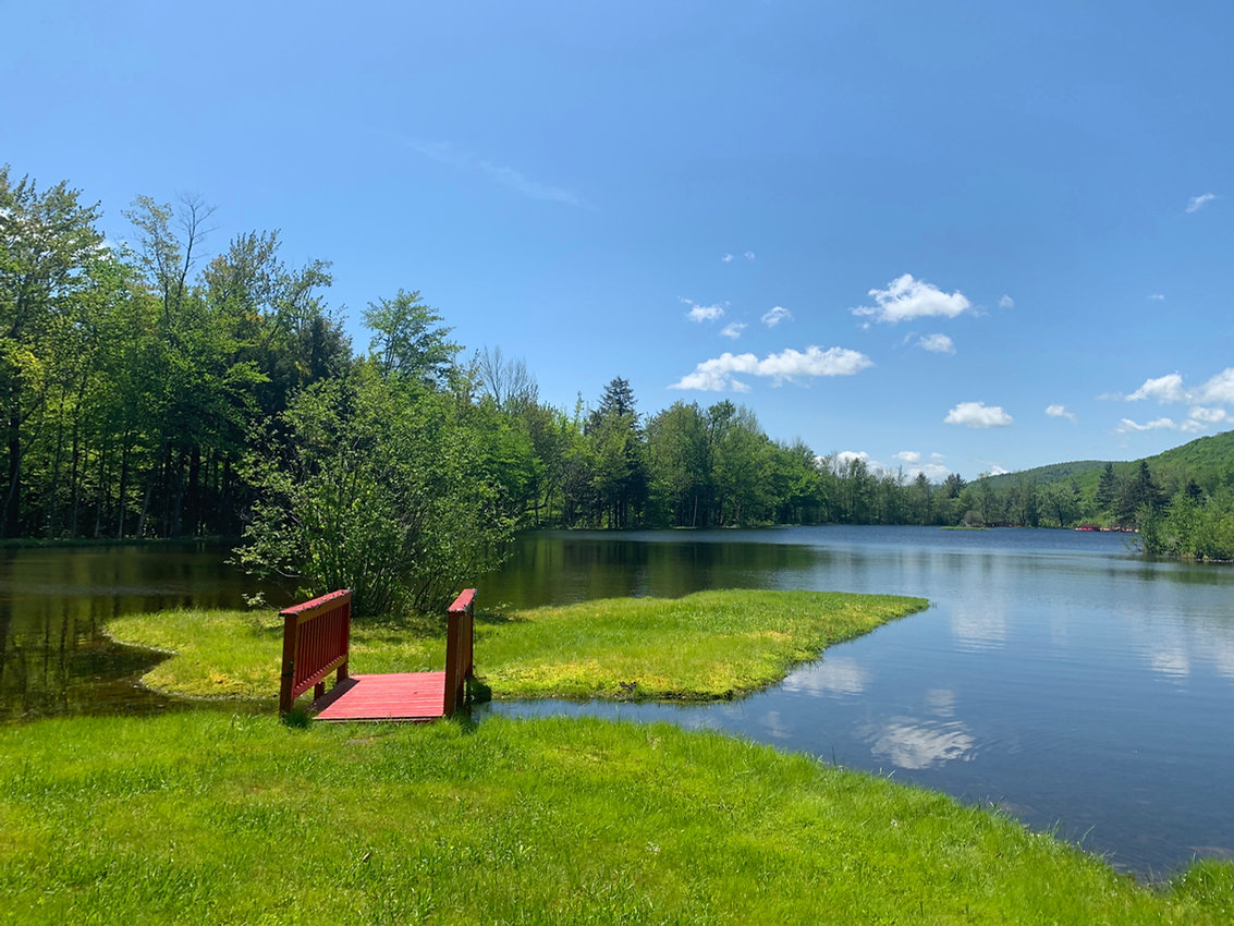 Shadow Lake near Waterwheel