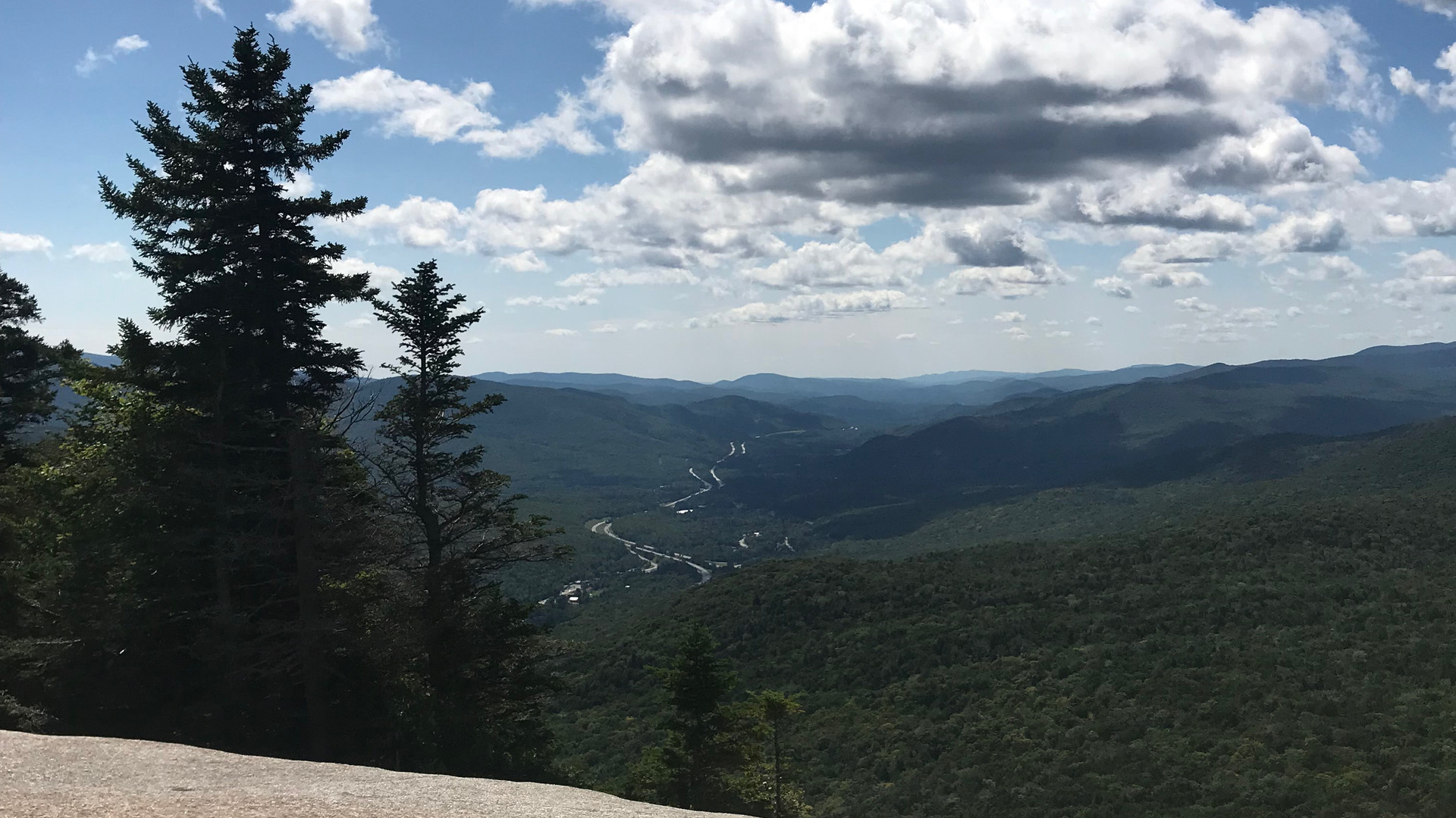 View from Indian Head Profile