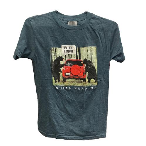 Bear Menu T-Shirt - Kid's