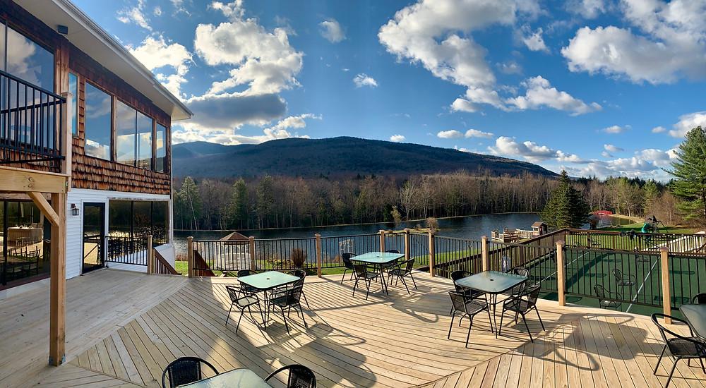 New Deck Indian Head Resort